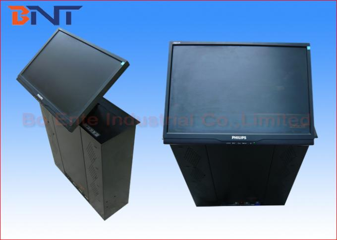 17 - 19 Inch Conference Computer LCD Motorized Lift With 60 Degree Screen Tilting