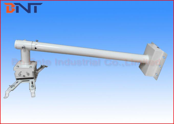 800 Mm White Short Throw Projector Bracket For Multimedia Conference Rooms