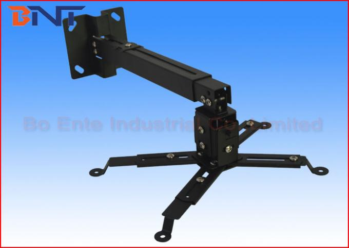 Rear HD Projector Hanging Bracket Easy To Adjust Clutches Length And Angle