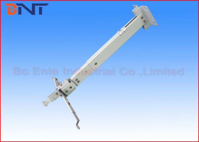 Presentation White LCD Projector Ceiling Mount Bracket For Conference Room