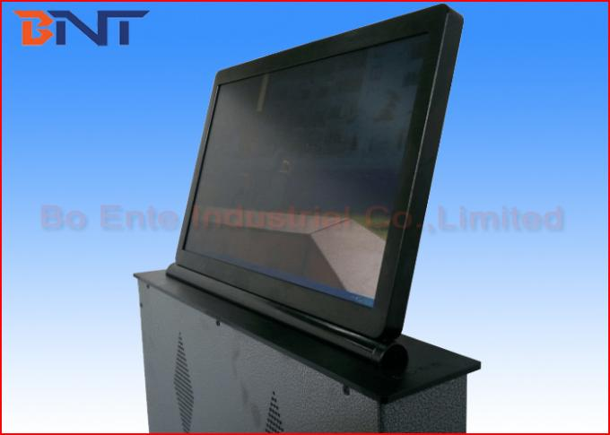 18.5 Inch LCD Monitor Lift , Monitor Lift Mechanism For Conference System