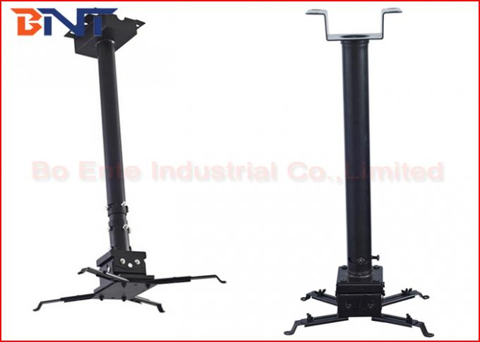 Video Projector Ceiling Mount Kit With Black Universal Mounting Catch Plate