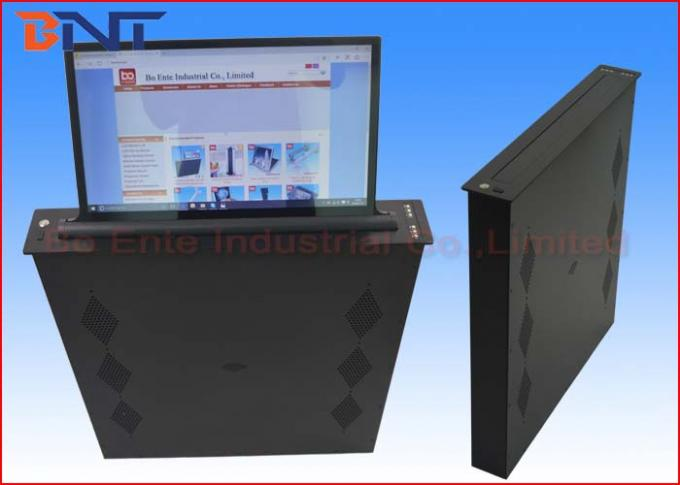 Ultra Thin Automatic LCD Monitor Lift With 21.5 Inch Retractable Screen