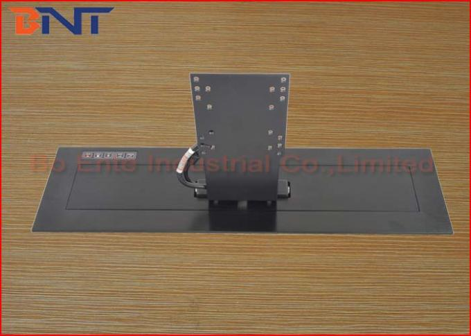 Carbon Steel Meeting LCD Motorized Lift Mechanism For 19 - 22 Inch Monitor