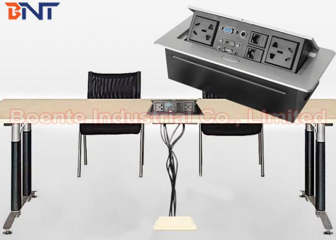 Conference Table Pop Up Outlets With Pin Power Plug And HDMI Port - Conference table hdmi port