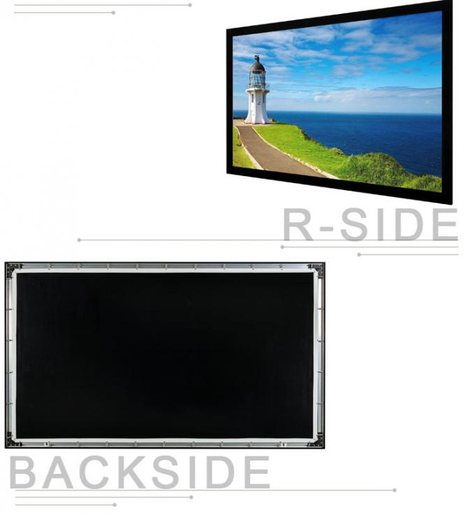 16:10 format fixed frame projector screen used in government agency BETFS10-120