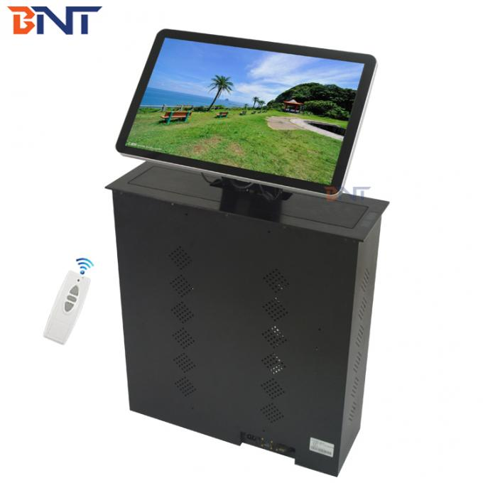 17 Inch LED / LCD Screen Lift For Office Audio Video Conference System