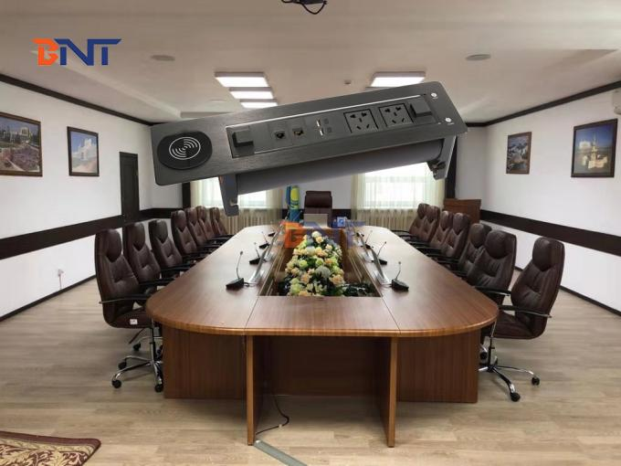 180 degree rotating angle conference table power outlet  EK9804