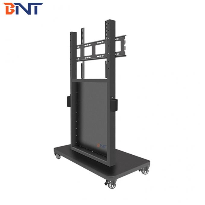 150CM Production Height Mobile TV Bracket For School / Shopping Mall