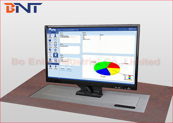 China 19 - 22 Inch Desktop Computer Monitor Lift With Stainless Steel Panel supplier