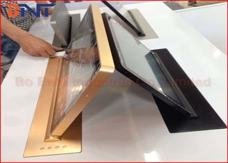 China 18.5 Inch LCD Monitor Lift , Monitor Lift Mechanism For Conference System supplier