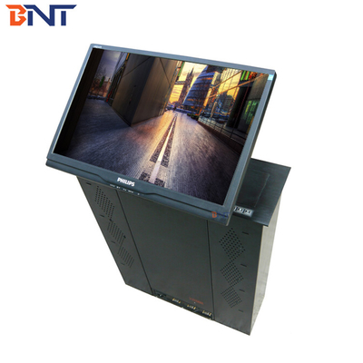 China Touch Key - Press Control LCD Motorized Lift For Audio Video Conference System supplier