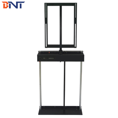 Matte Black Electric TV Lift Mechanism With 360 Degree Rotation Angle
