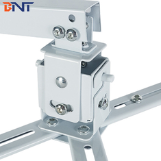 Square Pole Projector Ceiling Mount , Cold Rolled Steel Telescopic Projector Mount