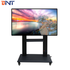 China Ergonomic Design Mobile TV Stand DVD / Audio Terminal Equipment Tray Available supplier