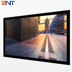 16:9 format fixed frame projector screen used home theater BETFS9-100