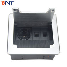 China modular design flip up table socket with EU power used in meeting room BF402 supplier