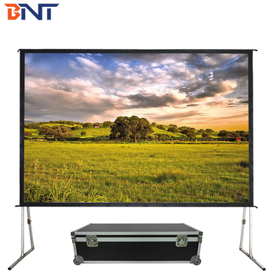 China Outdoor Motorized Projector Screen 72 Inch supplier
