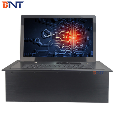 China 18.5 inch screen aluminum alloy material  motorized flip up monitor  BF-18.5A factory