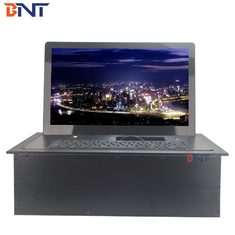 China high quality supply mouse with 17.3inch screen flip up monitor lift BF7-17.3A factory
