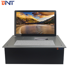 China 17.3inch FHD screen 102 degree overturn angle electric desk  monitor BF6-17.3A factory