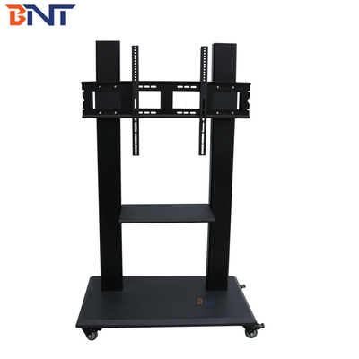 China Universal Rotation Mobile TV Stand , 58 - 86 Inch Touch Screen TV Stand Mobile Cart supplier