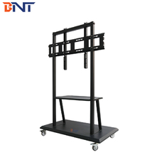 China 42 - 84 Inch LCD TV Mount Stand With Wheels supplier
