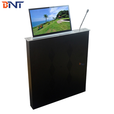 China Separate Operation Motorized LCD Monitor Lift With Conference Mic supplier