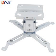 White Mini Projector Ceiling Mount For Home Theater / Exhibition Hall