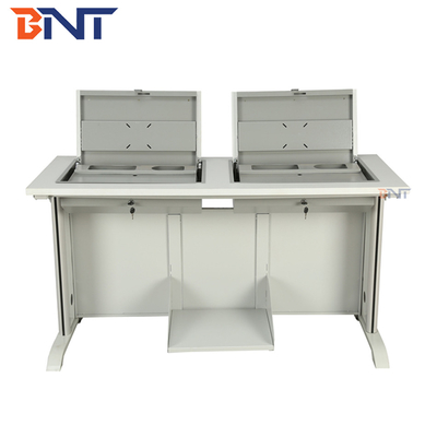 High School / College Student Double Computer Desk PC Slot Available