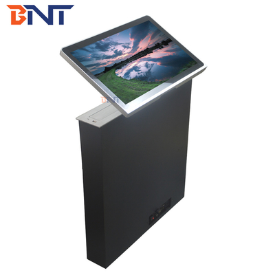 Ultra Thin LCD Monitor Lift With Remote Control Tilting Angle 0 - 60 Degree