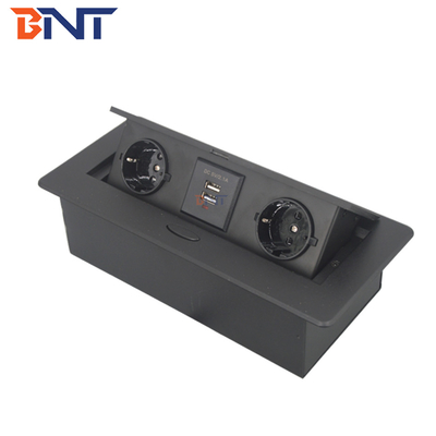 China Compact Multi - Function Pop Up Socket For Company Conference Room supplier