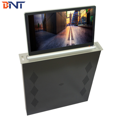Super Slim Pop Up Computer Monitor Lift With 18.5 Inch Motorized Screen
