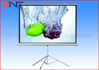 China 120 Inch Portable Projection Projector Screen With Tripod Stand Manual Fixed Lock factory