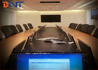 "China Conference Audio Video Project / 17.3"" FHD Screen Ultra Thin LCD Motorized Lift company"