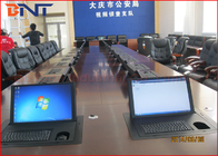 "China Pubilc Security Bureau Project , Flip Up Screen Electrical Lift Integrated 19"" Screen company"