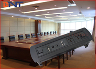 Multi - Function Conference Table Outlet With 2 USB Power Charger