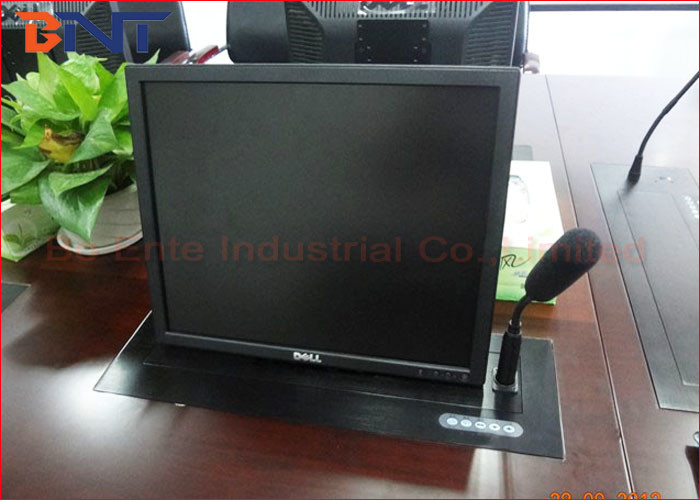 Audio Conference Motorized LCD Lift Mechanism With 5 Mm Aluminum Panel