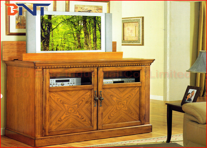 wireless control motorized tv lift plasma tv cabinet lift cold rolled steel
