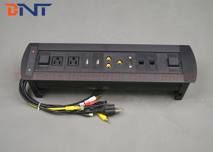 Conference Room Tabletop Hidden Electric Rotation Power Socket Cm - Conference table power supply