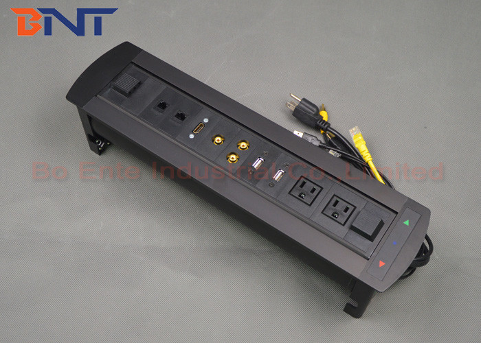 Conference Room Tabletop Hidden Electric Rotation Power Socket Cm - Conference room table power strip