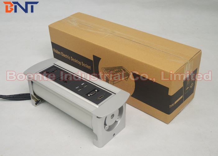 USB Power Charger Type Conference Table Rotating Power Socket - Conference table power box