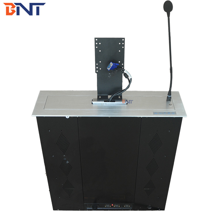 Black Matt Suitable For 17 Inch Screen With Microphone Monitor Pop Up Mechanism BML1-17