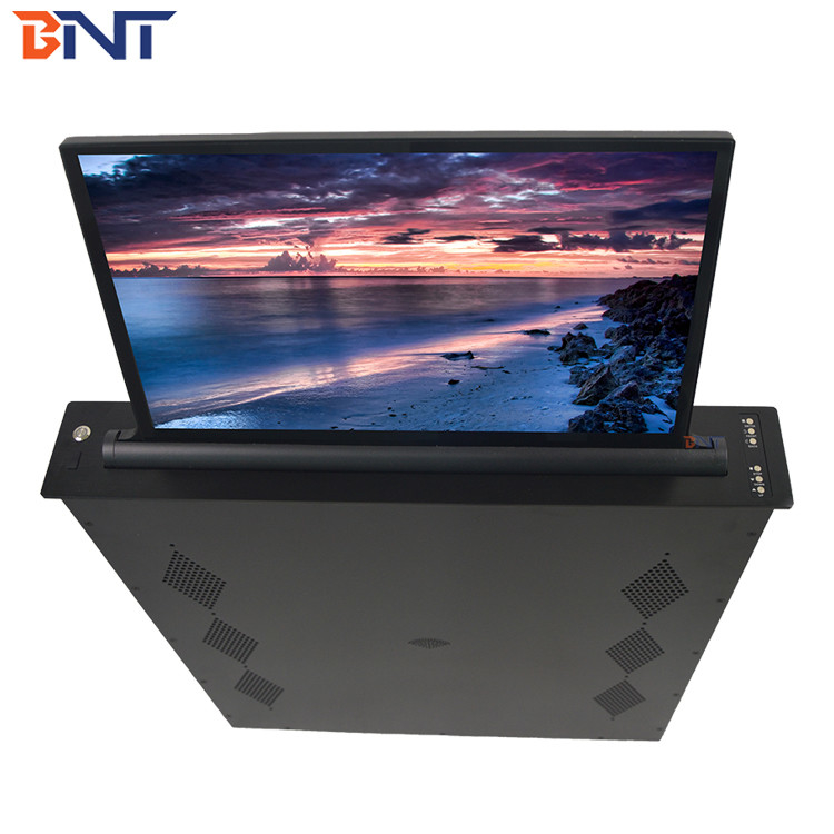 15.6  Inch LCD, 73 Mm Slim Office Conference Room Desktop LED Screen Mechanism  BLL-15.6