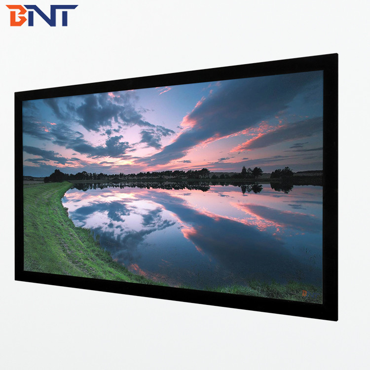 150 inch projection furniture screen 16:10 format used in profession cinema BETFS10-150