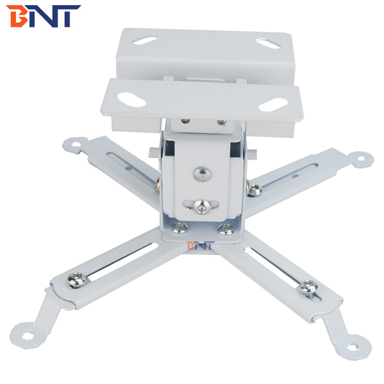 White  30  Degree Swivel  ceiling projector mount   50~100Cm  Extension Size