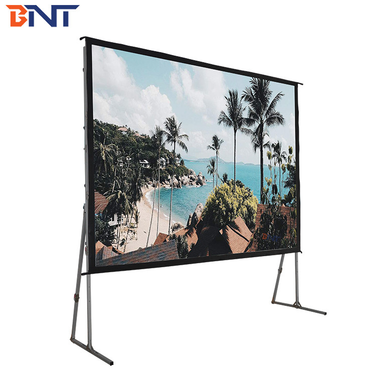 350 inch fast fold projector screen