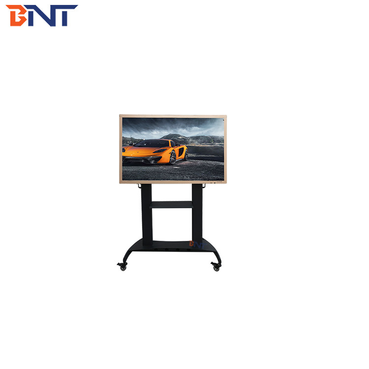 160cm production height available video conference single screen floor tv mobile bracket
