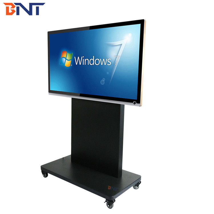 with 150cm production height  suitable for 65-86 inch touch screen mobile tv bracket