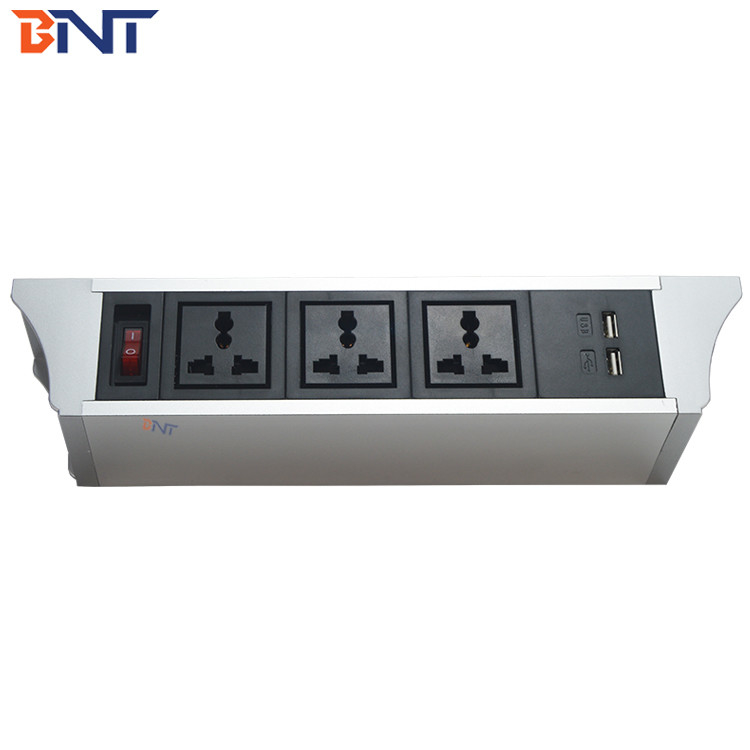 modular design good quality with switch interface table hanging power socket